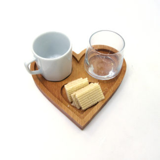 Aşk türk kahvesi tepsisi