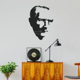 atatürk portre duvar mdf tablo